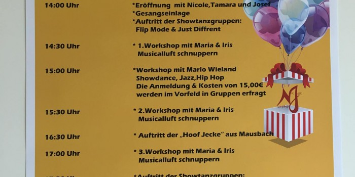 10 Jahre Not Just Dancing – Sommerfest